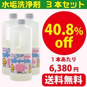 業務用水垢落とし洗剤 テラクリーナーヤマト 3本セット|yamatoayura