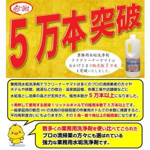 頑固な水垢取りにおすすめの業務用強力水あか落とし洗剤 初回注文限定お試し価格+返金保証 2本以上で送料無料 yamatoayura 20