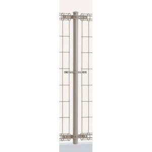 プロメッシュフェンス1型専用 間柱タイプ支柱 H1200用 1本 (四国化成)|yamatojyu-ken