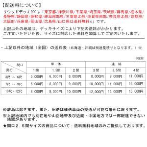 樹脂 人工木 リウッドデッキ200 Tタイプ 1.5間3尺(2651×920mm) 基本セット (YKK AP) yamatojyu-ken 06