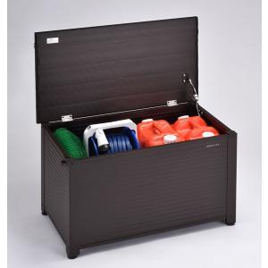 収納ベンチ ベランダ アルミ製 W840 耐荷重座面部100Kg対応 錠取付可能 本州 送料無料 組立式|yamatojyu-ken