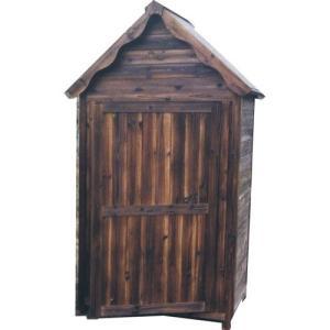 木製 物置 屋外 ガーデンストア 1211 W1050 H2100 送料無料 パネル式|yamatojyu-ken