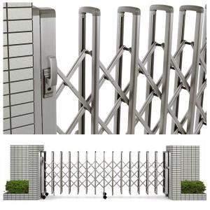 駐車場 ゲート レイオス1型 H12 片開き 18S(全幅1807mm) (YKK AP 伸縮ゲート)|yamatojyu-ken