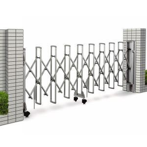 ゲート フェンス レイオス5型 H11 片開き 32S(全幅3207mm) (YKK AP 伸縮ゲート)|yamatojyu-ken
