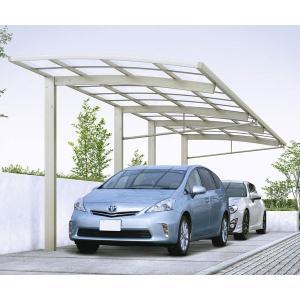 前下がり屋根で隣地へ配慮。縦列駐車スペースに適しています。  この商品は「東京都・神奈川県・千葉県・...