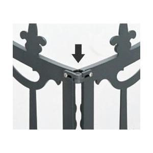 柵 フェンス 三協立山鋳物フェンス用 コーナー部品 1組 全商品共通|yamatojyu-ken