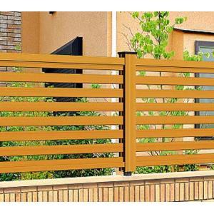 フェンス ラチス 木目調 樹脂 プラウディC型 1212 本体のみ 木粉入り 三協アルミ|yamatojyu-ken