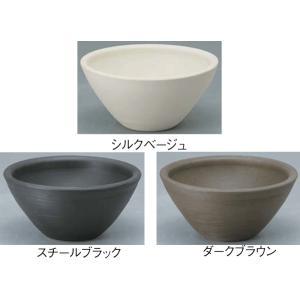 陶芸 ポット(水受け) デミ 1個 H170 ユニソン 水鉢 yamatojyu-ken