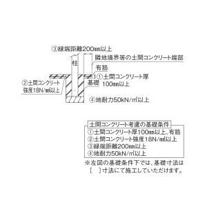 【11/23〜クーポン発行】 サイクルポート 自転車屋根 レイナポートグラン ミニ 基本セット 29-21H(長さ2904×幅2100mm) ハイルーフ YKK AP|yamatojyu-ken|06