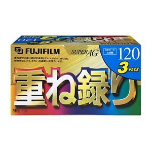 FUJIFILM 録画用VHSビデオテープ 「重ね録り」 120分 スタンダード 3巻パック T-120X3 F AG H yamatoko