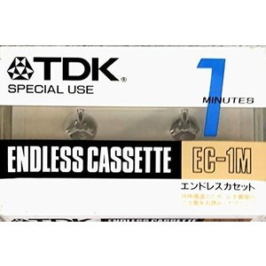 TDK エンドレス カセットテープ 1MINUTE エンドレステープ EC-1M yamatoko