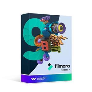 Wondershare Filmora9 (Win版) 動画編集ソフト 永久ライセンス パッケージ版 ワンダーシェアー yamatoko