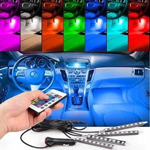 車テープライトEJ's SUPER CAR LEDテープライト RGB テープライト 車内装飾用 高輝度 高品質 フットランプ 足下照明 防水 全8色|yamatoko
