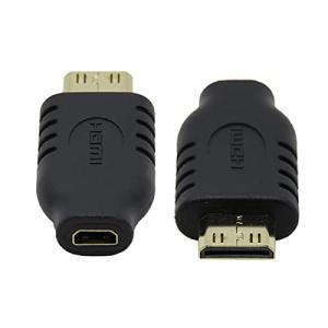 CYマイクロHDMIタイプDソケットメスto Mini HDMI 1.4オスタイプCアダプタ変換装置 yamatoko