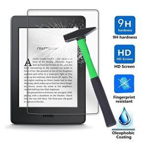Kepuch 2パック 強化ガラス スクリーンプロテクター 対応 Kindle 2019 10th/Kindle Paperwhite 1 2 3 2 yamatoko