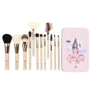 amoore メイクブラシ 12本セット 化粧筆 フェイスブラシ 専用ボックス付き|yamatoko