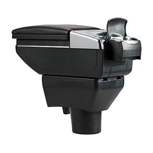 Shengkai アームレスト トヨタ アクア NHP10系 及び ヴィッツ 適用 多機能 収納ケース コンソールボックス 水筒 カップホルダー 灰皿|yamatoko