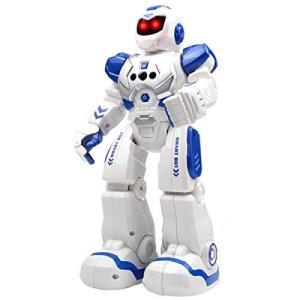 多機能ロボットおもちゃ ラジコンロボット 手振り制御 それは歌と踊りをする 子供のおもちゃ 誕生日プレゼント (ホワイト)|yamatoko