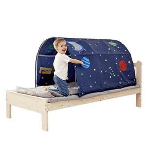 【selling-Home】子供ベッドテントベッドキャノピードリームキッズ遊びテント劇場プライバシースペース眠っている屋内玩具ゲームハウス|yamatoko