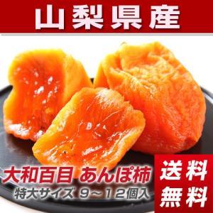 干し柿 あんぽ柿 大和百目 特大サイズ 2パック入り (6〜8個入り)|yamatonouen