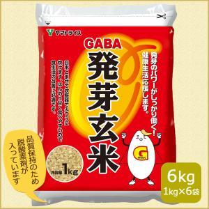 発芽玄米 GABA 6kg(1kg×6) 1ケース お米 米 玄米