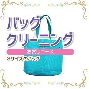 バッグ クリーニング 宅配 お試しコース Sサイズ 横+高さ35cmまで バッグ 鞄 カバン|yamatoya-cleaning
