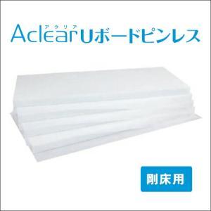 グラスウール床下用 「アクリアUボードピンレス 剛床用」 密度24K(高性能) [厚さ80×805×1820mm] 4枚入り(約2.0坪分) yamayuu