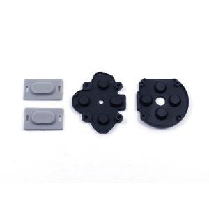 速達ネコポスで発送 PSP 部品 PSP-1000用交換部品 ボタン用ラバーセット|yamazaki