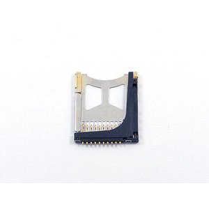 速達ネコポスで発送 PSP 部品 PSP-1000 PSP-2000用交換部品 メモリスティック用スロット|yamazaki
