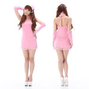速達ネコポスで発送 ナース コスプレ コスチューム 仮装 ピンクのキュートでセクシーなナーススタイル♪ 看護師 看護婦 クリスマス キャバ nus010|yamazaki