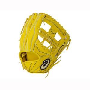 在庫処分 硬式グローブ ゴールドステージ(内野手用) ASICS アシックス 野球 硬式用グラブ 3121A380 yamazakisports-ysp