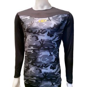 アンダーシャツ ActiveM/アクティブーム 野球 コンフォートインナー 吸汗速乾  長袖 ブラック|yamazakisports-ysp