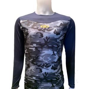 アンダーシャツ ActiveM/アクティブーム 野球 コンフォートインナー 吸汗速乾  長袖 ネイビー|yamazakisports-ysp