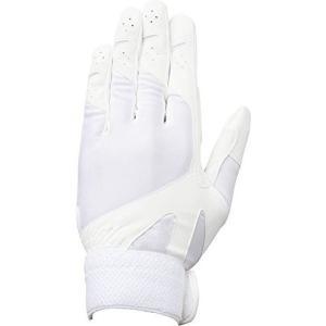 メール便送料無料 DESCENTE(デサント) 野球  高校野球 守備用手袋 左手用 ホワイト  C326L yamazakisports-ysp