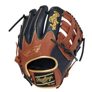 Rawlings ローリングス 軟式 HOH MLB COLORSYNC N62Wネイビー/ブラウン GR1HMN62W yamazakisports-ysp