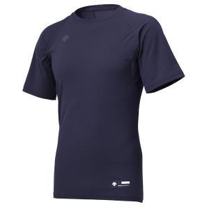 メール便送料無料 少年用 アンダーシャツ DESCENTE(デサント) JSTD-721 丸首半袖アンダーシャツ  野球アンダーウェア DNVY|yamazakisports-ysp