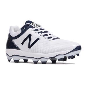 野球スパイク NEW BALANCEニューバランス  PL4040J5ホワイト/ネイビー|yamazakisports-ysp