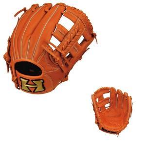 少年野球  HI-GOLDハイゴールド少年軟式グローブ ルーキーズシリーズ  RKG-1827 オレンジ yamazakisports-ysp