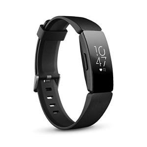 Fitbit InspireHR フィットネストラッカー Black L/Sサイズ 日本正規品 FB413BKBK-FRCJK|yamazoo-store