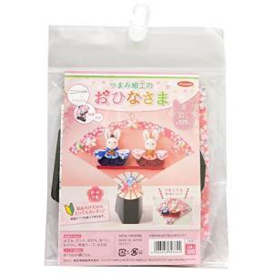 Panami つまみ細工キット おひなさま LH-100 手芸・ハンドメイド用品|yamazoo-store