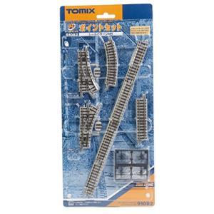 TOMIX Nゲージ ミニレールセット ポイントセット MBパターン 91082 鉄道模型 レールセット|yamazoo-store