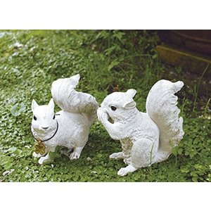 Kishima キシマ ガーデンオーナメント リス 2個セット KH-60861 KH-60861|yamazoo-store