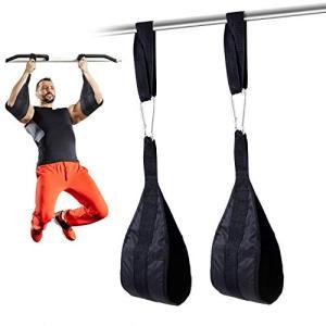 ぶら下がり健康器 アブストラップ (6点セット) 腹筋 懸垂 トレーニング の補助を行う 筋トレ 器具 ぶら下がり健康器 ぶら下がり キント|yamazoo-store