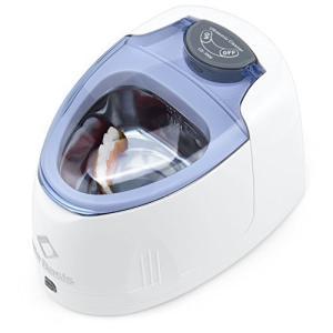 Life Basis 200ml入れ歯専用超音波洗浄機 歯ブラシ除菌器 入れ歯ケース 入れ歯洗浄器 高速振動42,000Hz 水だけでピカピ|yamazoo-store