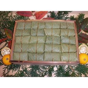 【奈良名物】【よしの弁天屋】柿の葉すし 40個/贈答用高級杉折箱入り(鯖20・鮭20)