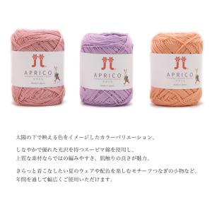 毛糸 コットン 100% ハマナカ / Hamanaka(ハマナカ) アプリコ 2 春夏|yanagi-ya|02