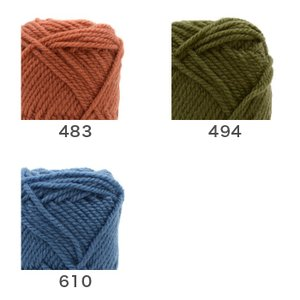 編み物 キット / Hamanaka(ハマナカ) ハマナカボニーで編むリーフ柄の引き上げ編みバッグキット|yanagi-ya|06
