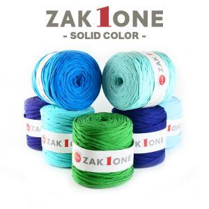 ズパゲッティと同じTシャツヤーン 糸 100m YANAGIYARN(ヤナギヤーン) ZAK ONE ザックワン SOLID COLOR 9 柳屋オリジナル