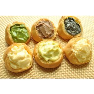 シュークリーム各種 合計10個セット・カスタード・抹茶・チョコ・ずんだ・黒胡麻・チーズ お菓子 スイーツ|yanagiyakashi
