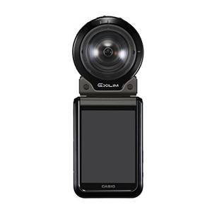 CASIO デジタルカメラ EXILIM EX-FR200BK カメラ部+モニター(コントローラー)部セット アウトドアレコーダー EXFR200 ブ|yanagoma-store